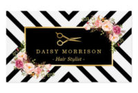 Scissors Business Cards & Templates | Zazzle throughout New Hairdresser Business Card Templates Free