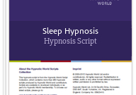 Sleep Hypnosis Hypnosis Script | Hypnosis Scripts regarding Quality Ross School Of Business Resume Template