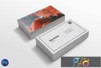 Smoke Color Business Card Template Kkyksy8 – Freepsdvn with regard to Best Photoshop Business Card Template With Bleed