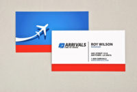 Sophisticated Travel Agency Business Card Template | Inkd Throughout New Front And Back Business Card Template Word