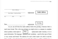 Standard Business Letter Format – 9+ Examples In Word, Pdf intended for How To Write A Formal Business Letter Template