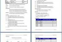 Standard Work Instructions Support for New Business Plan Template For Security Company