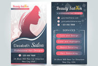 Standee Templates Psd, 317 Design Templates For Free Download with regard to Hair Salon Business Card Template