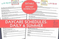 Starting A Daycare Complete Paperwork Forms Bundled Set regarding Daycare Center Business Plan Template