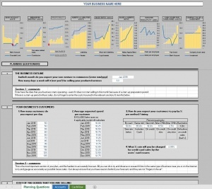 Startup Financial Model Templates In Excel - Downloads inside Unique Business Plan For A Startup Business Template