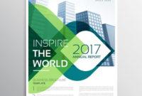 Stylish Brochure Presentation Leaflet Template Design With in Presentation Handout Template