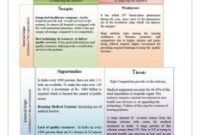 Swot Analysis In Healthcare | Template Business with Quality Business Case Cost Benefit Analysis Template