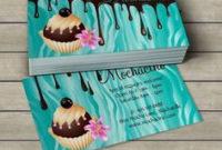 Tarjetas De Presentación – Pastelería. … | Bakery Business with regard to Quality Cake Business Cards Templates Free