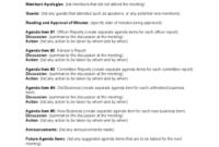 Template Webinar Invitation Sample: Email Template in Community Meeting Agenda Template