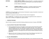 Terms Of Service Agreement Template – Word & Pdf   with regard to Terms And Conditions Of Business Free Templates