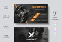 This Gym Business Card Design Template Is Fully Editable with regard to Best Free Editable Printable Business Card Templates