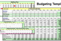 Tools   It Manager Institute for Small Business Annual Budget Template