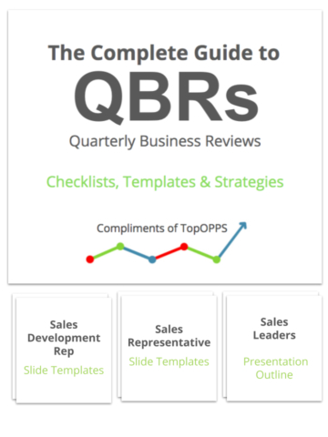 Topopps Guidebooks To Support Innovating The Sales Process throughout Quarterly Business Plan Template