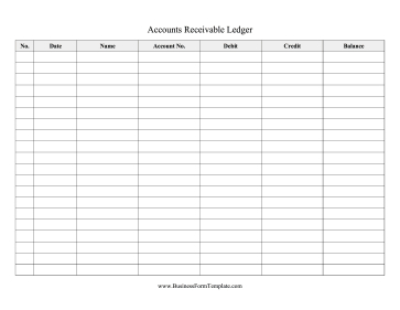 Track The Balance In Each Customer'S Account With This throughout Quality Business Ledger Template Excel Free