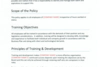 Training-Development – Brunton Bid Writing with Quality Recruitment Agency Business Plan Template