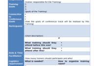 Training Plan Template - Trainers Advice Doc Template in Training Agenda Template