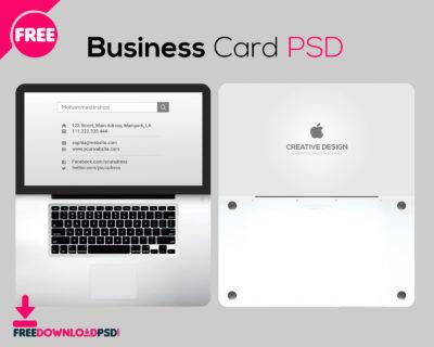 Transparent Business Card Free Psd   Freedownloadpsd regarding Business Card Template Size Photoshop