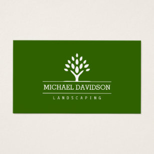 Tree Trimming Business Cards & Templates | Zazzle with regard to Best Gardening Business Cards Templates