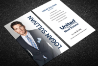 United Real Estate Business Cards   Free Shipping throughout Real Estate Agent Business Card Template