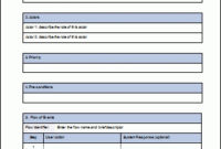 Use Case Template | Business Mentor in Unique Software Business Requirements Document Template