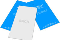 Vertical Business Card Mockup 2X3.5 | Cover Actions intended for Fresh Business Card Template Photoshop Cs6