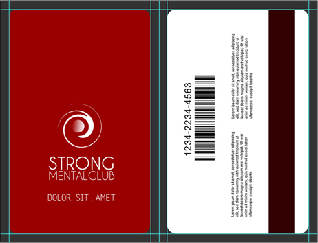 Vertical Cr80 Credit Card Mock Up | Cover Actions Premium with Business Card Template Photoshop Cs6