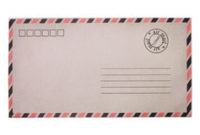 Vintage Usa Airmail 15C Stamp Royalty Free Stock Image within Usps Business Reply Mail Template