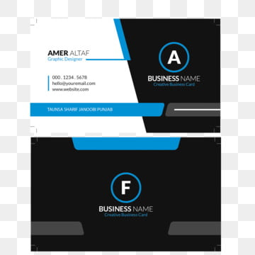 Visiting Card Design Png, Vectors, Psd, And Clipart For in Unique Unique Business Card Templates Free