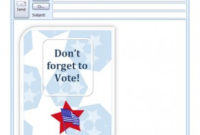 Voting Template | Microsoft Voting Template with regard to Best Word 2013 Business Card Template