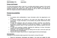 Ward Administrator Cover Letter - Fill Out Online in Ward Council Agenda Template
