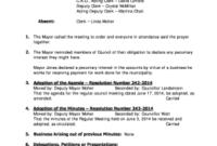 Ward Clerk Resume Responsibilities - Fill Out Online regarding Ward Council Agenda Template