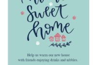 Warming Welcome – Housewarming Invitation Template (Free in Business Open House Invitation Templates Free