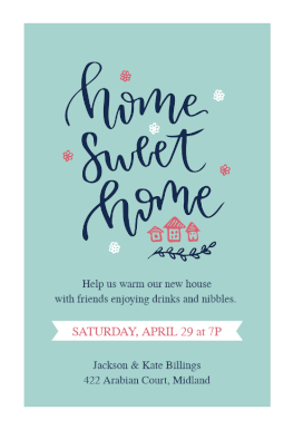Warming Welcome - Housewarming Invitation Template (Free in Business Open House Invitation Templates Free