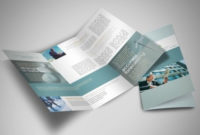 Wealth Management Financial Services Business Tri-Fold within Best Business Service Catalogue Template