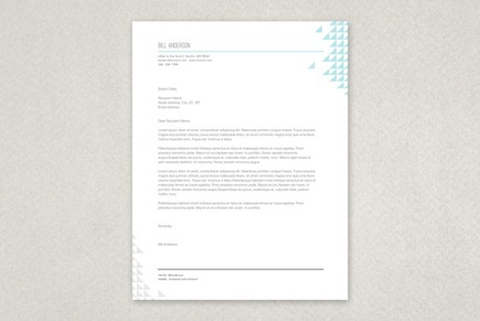 Web Analyst Letterhead Template   Inkd pertaining to Quality Business Headed Letter Template