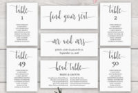 Wedding Seating Chart Pros And Cons - Adagio inside Bridal Shower Agenda Template
