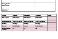 Weekly Agenda Template For Distance Learningmolly with Teacher Team Meeting Agenda Template