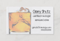 Whiskey Business Cards & Templates | Zazzle for Best Distillery Business Plan Template
