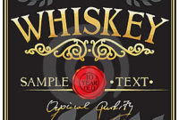 Whiskey Label Stock Photo – Image: 23790050 for Distillery Business Plan Template