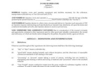 Wind Farm Land Lease Form   Legal Forms And Business in Farm Business Tenancy Template