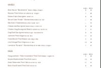 Wine List Template | Design Templatesmusthavemenus regarding Wine Bar Business Plan Template