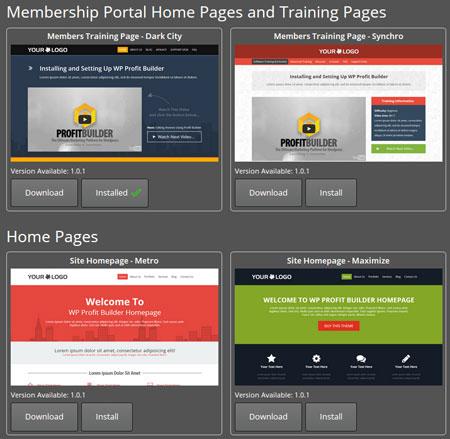 Wordpress Profit Builder Install | Internet Marketing Mozie with regard to Fresh WordPress Business Directory Template