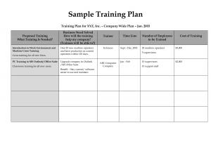 Workout Program Template   Template Business inside Business Development Template Action Plan