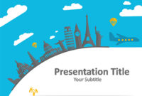 World Tour Powerpoint Template - Download Free Powerpoint Ppt pertaining to Google Drive Presentation Templates