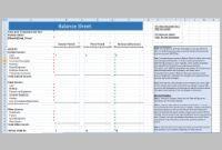 [Xls] Excel Spreadsheet Balance Sheet Template – Excel with New Business Balance Sheet Template Excel