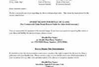 001 Insurance Denial Letter Template Excellent Ideas within Claim Denial Letter Template