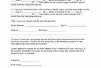 30 Day Notice Moving Out Letter Fresh Texas Lease pertaining to Moving Out Notice Letter Template