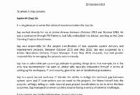 30 Pilot Letter Of Recommendation In 2020 (With Images with regard to Airline Pilot Cover Letter Template
