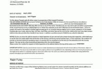 60 Day Notice To Terminate Lease Template In 2020 | Being throughout 30 Day Notice Lease Termination Letter Template
