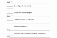 8 Printable Itinerary Template - Sampletemplatess within Wedding Party Itinerary Template
